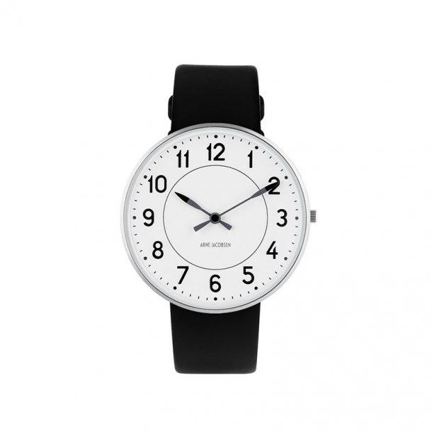 Arne Jacobsen Station ur 40mm - 53402-2001