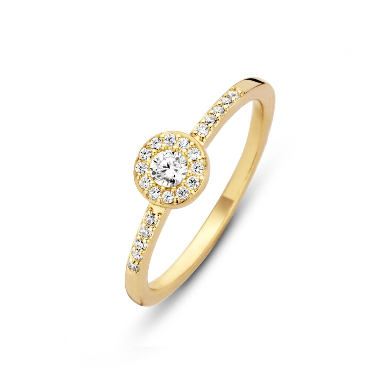 Spirit Icons Luxury Ring - 53482 Forgyldt 54