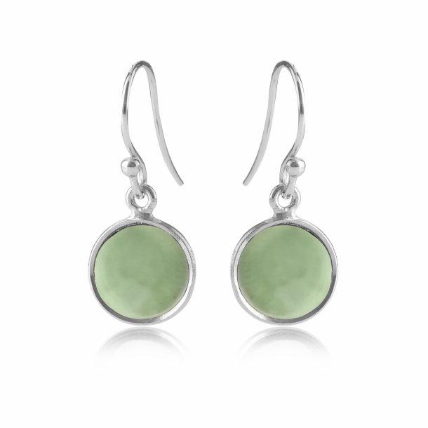 Sølv ørehænger med sten - 5521-1-116