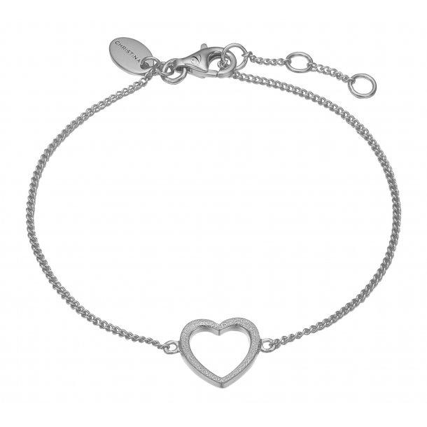 CHRISTINA Sølv Armlænke Magic Heart - 601-S17