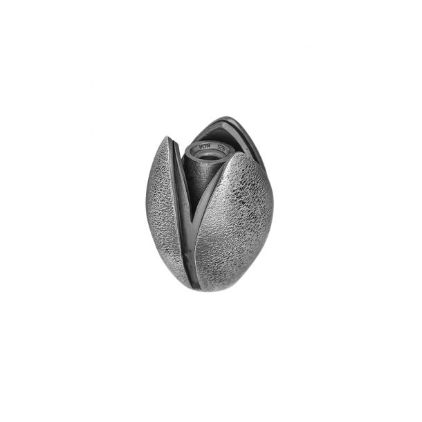 SHAPE sølv oxideret lås tulipan - 612024