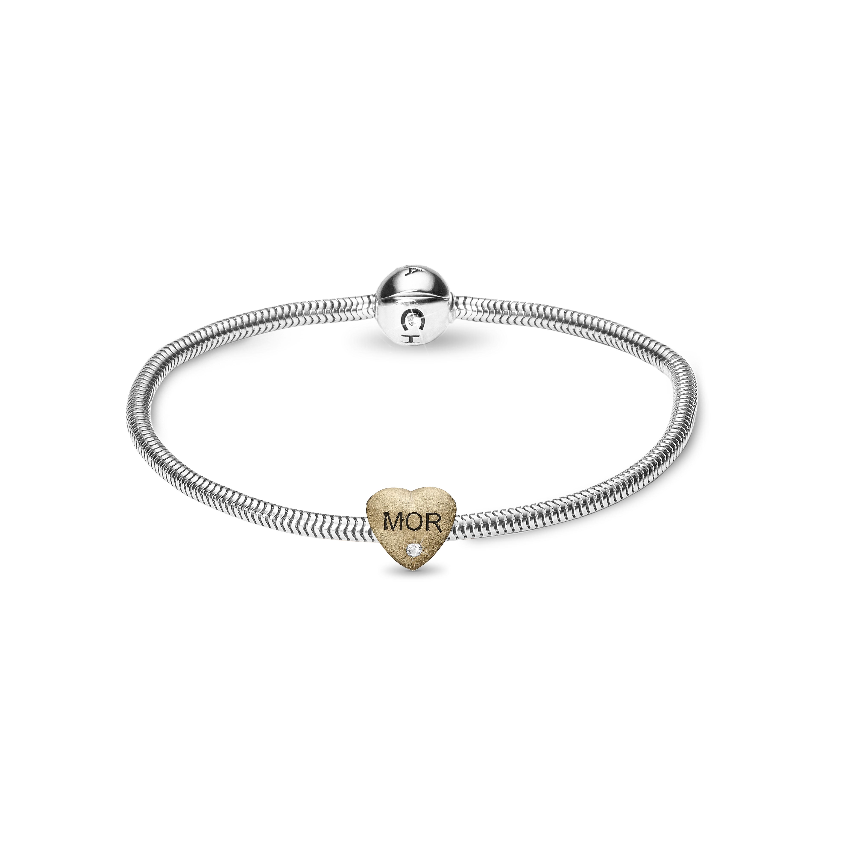 Christina Beads Bracelet kampagne - 615-MOM-G 19 centimeter