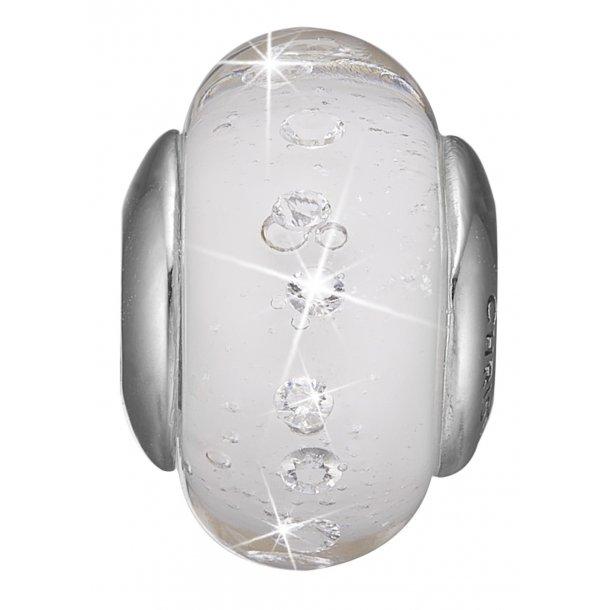 Christina sølv  White Topaz Globe - 630-S157