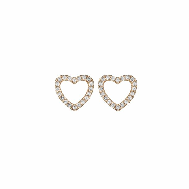 CHRISTINA Topaz sparkling hearts - 671-R46