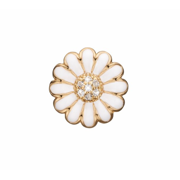 Christina White marguerite clips 18 mm - 674-G01WHITE