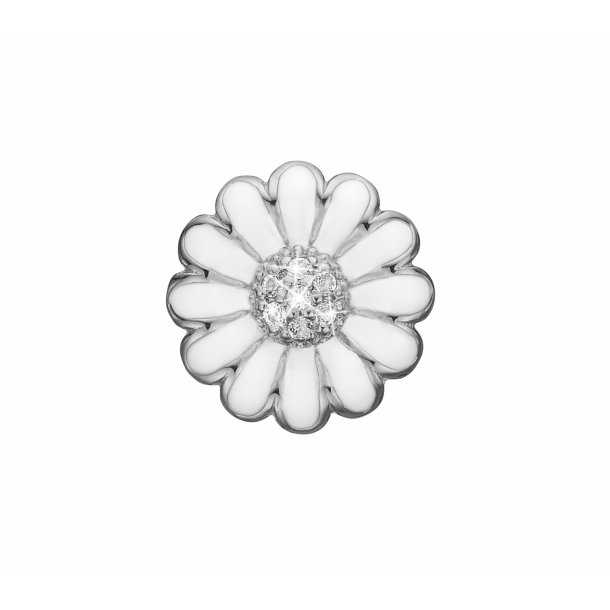 Christina White marguerite clips 18 mm - 674-S01WHITE