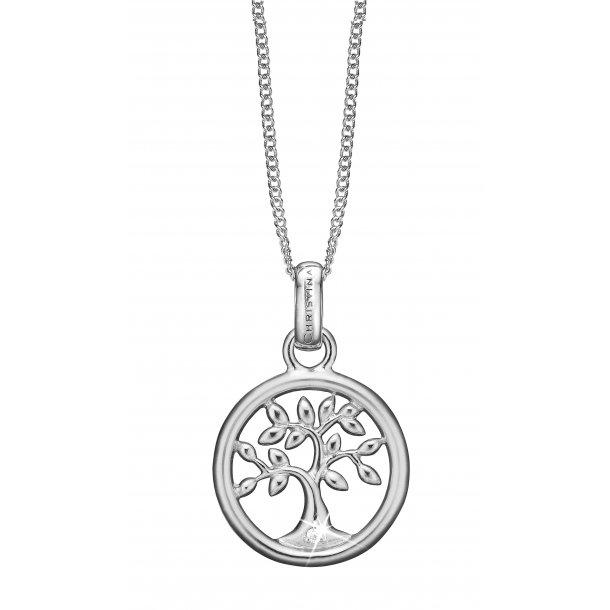 Diamond Tree of Life vedhæng sølv - 680-S46