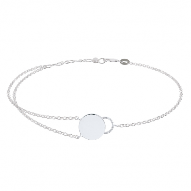 Sølv armbånd Gift - 825 450