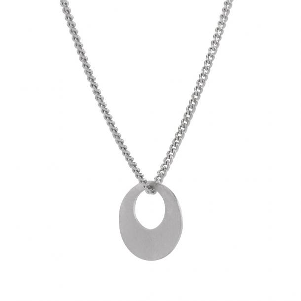 Sølv vedhæng med kæde - 825715
