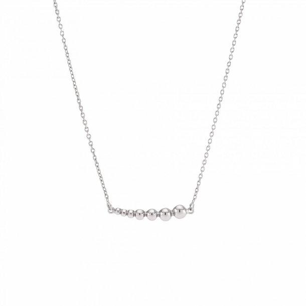 Sølv vedhæng med kæde Beads - 825 723
