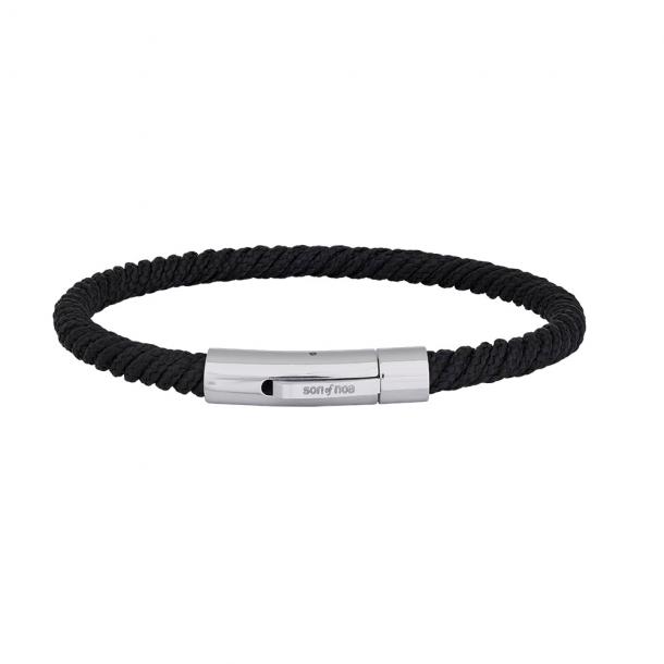 SON armbånd sort snor - 889 000-BLACK21