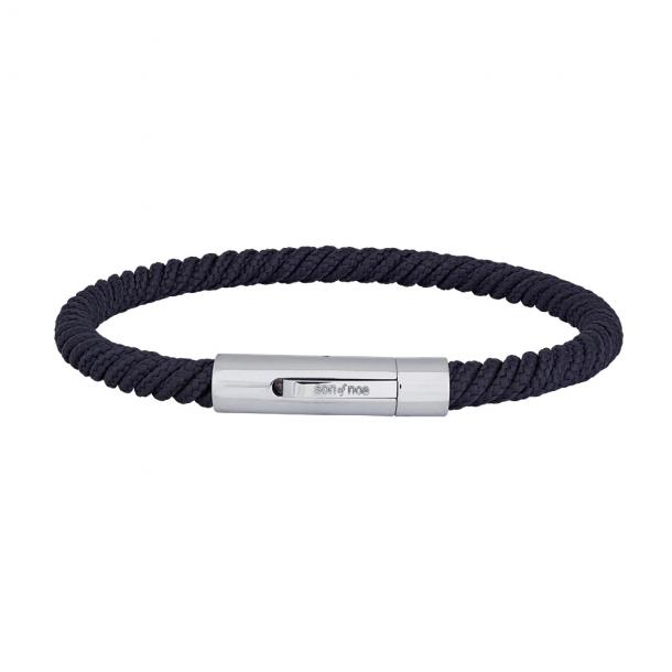 SON armbånd blå snor  - 889 000-BLUE21