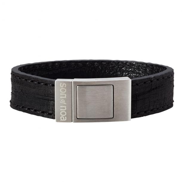 SON Herre læderarmbånd - 897 002-BLACK19
