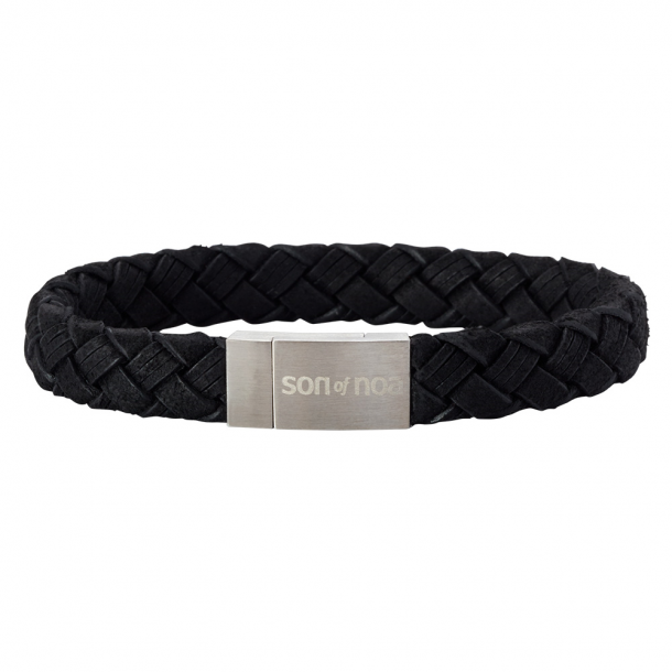 SON Herre læderarmbånd - 897 003-BLACK19