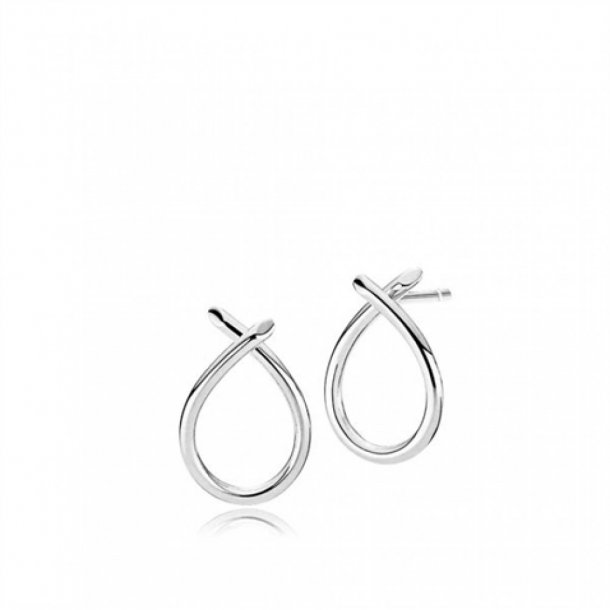 Izabel Camille Everyday Medium øreringe sølv - A1048SWS