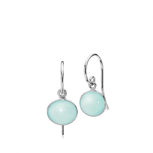 Izabel Camille Candy sølv øreringe aqua - A1570SWS-AQUACL