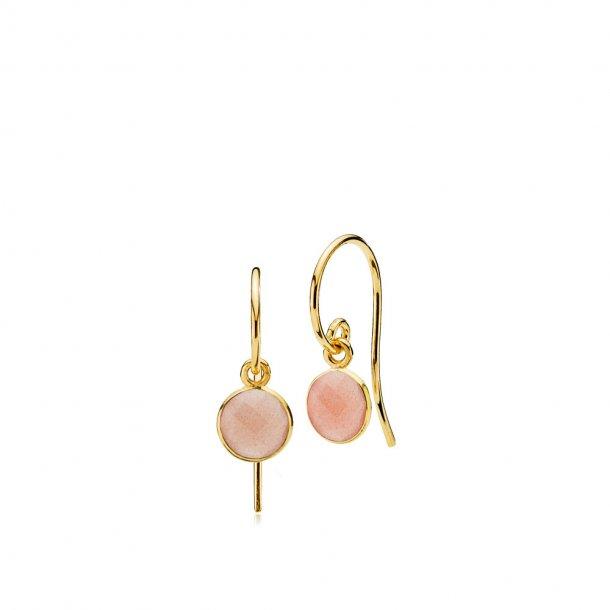 Izabel Camille Prima Donna Small øreringe peach - A1594GS-PEACHMOONSTONE