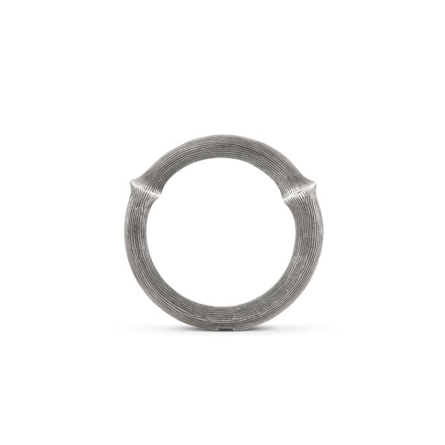 Ole Lynggaard Nature ring sølv nr. 4 - A2683-301 Ox. sølv 55