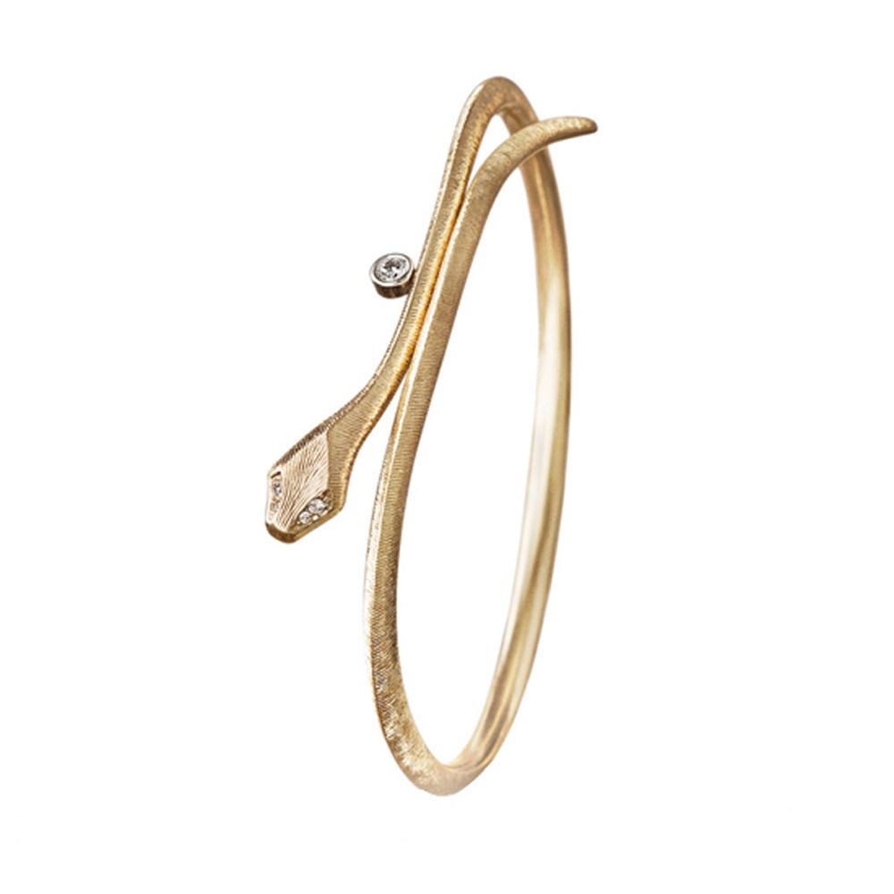 ole lynggaard Ole lynggaard snake mini armring - a2793-403 fra brodersen + kobborg