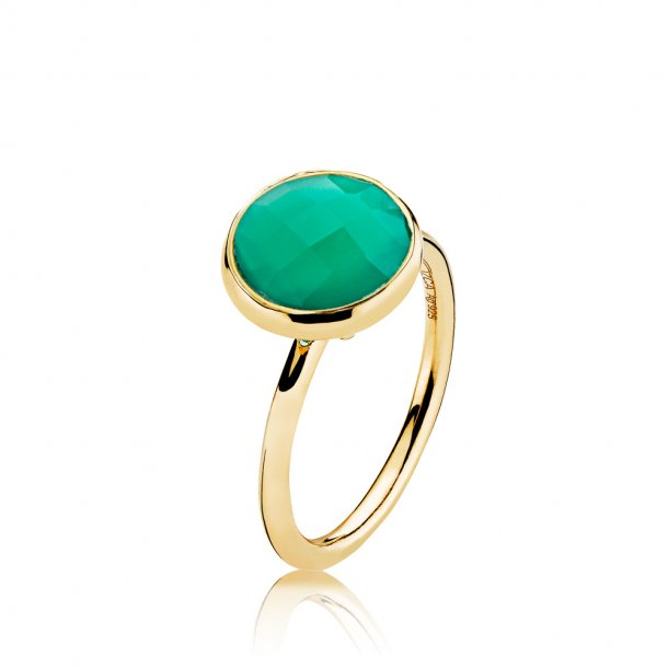 Izabel Camille Prima Donna forg. ring - A4095GS-GREEN-ONYX