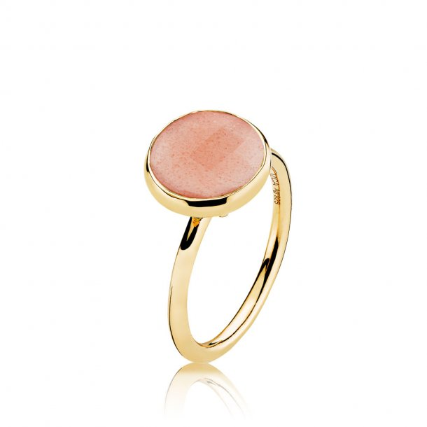 Izabel Camille Prima Donna forg. ring - A4095GS-PEACH-MOONSTONE