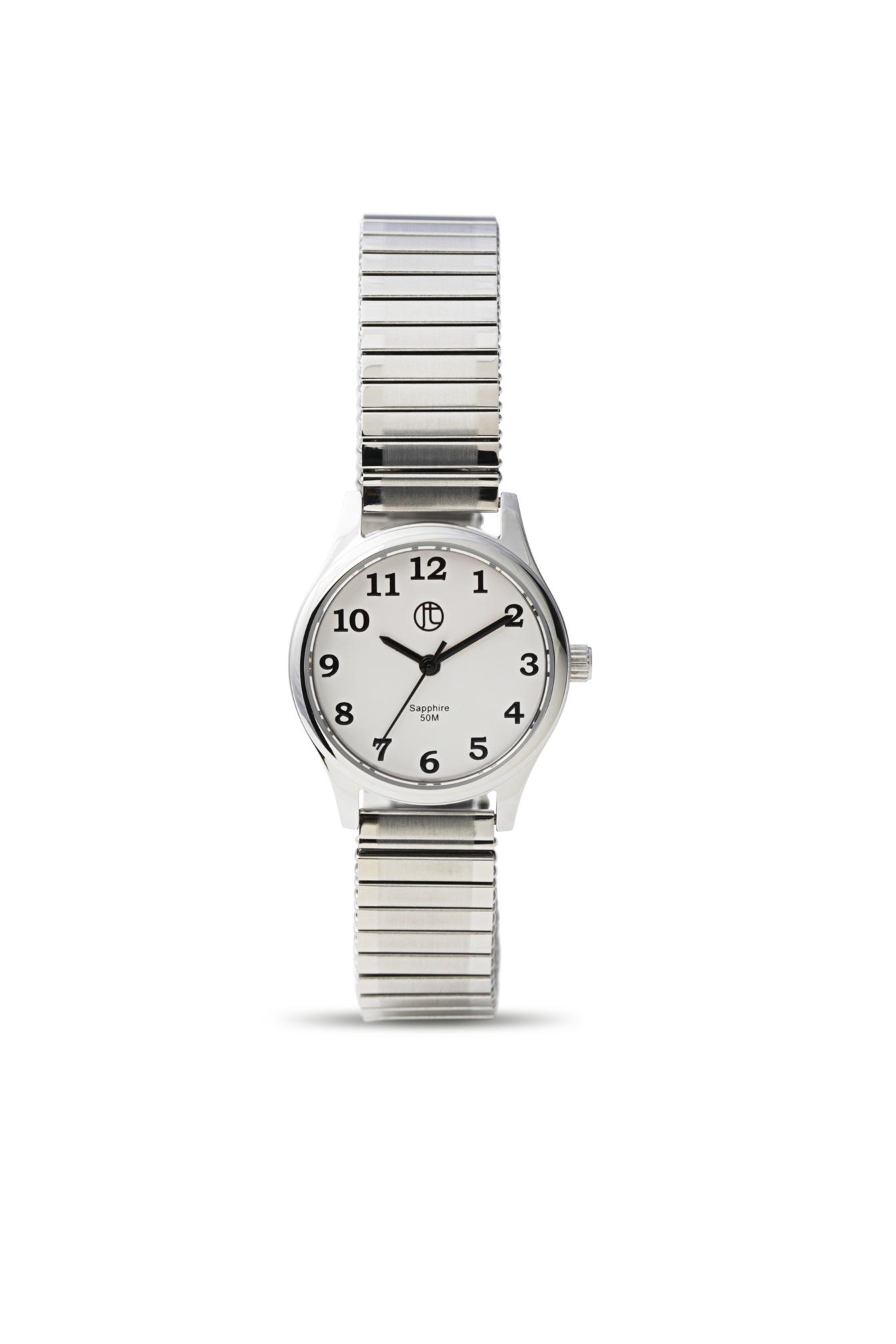 Jeweltime dame ur med flexrem - 3176l-g fra jeweltime på brodersen + kobborg