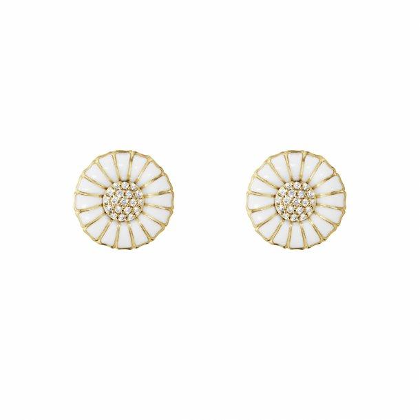 Georg Jensen DAISY ørestikker med diamanter - 10010537