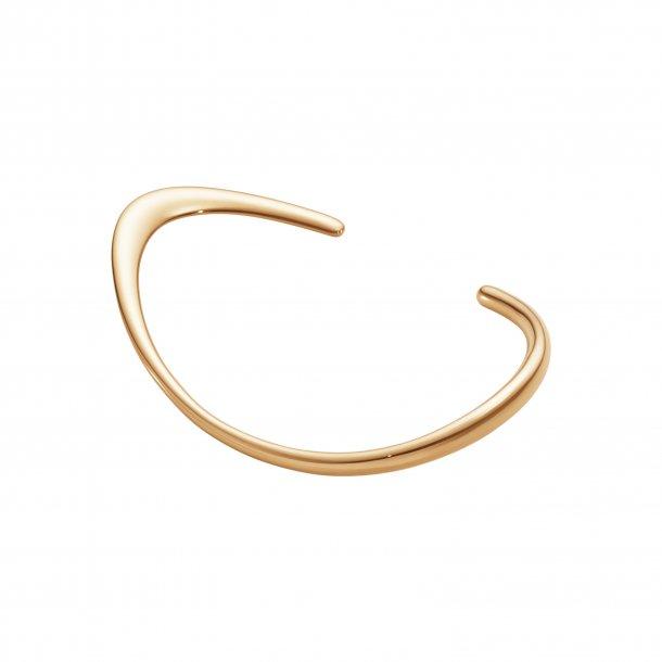 Georg Jensen Offspring slim armring i rosa guld - 10016956
