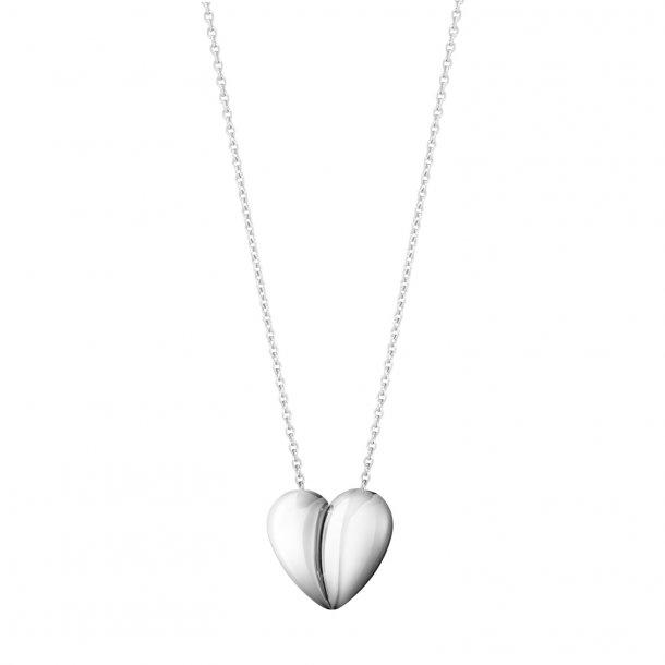 Georg Jensen Curve Heart halskæde - 10017504