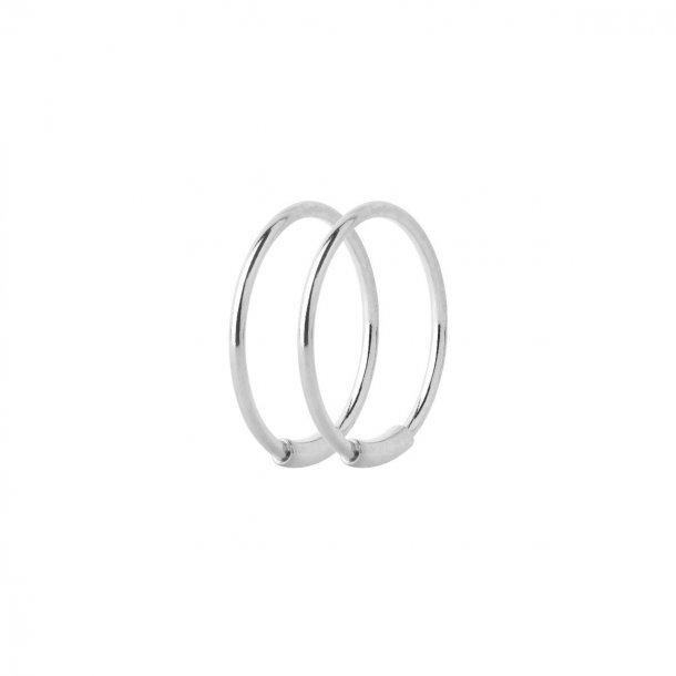 Maria Black Basic Hoop 12 øreringe - 100219