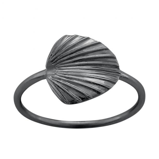 Oxideret sølv ring Licuala - 125 298-2