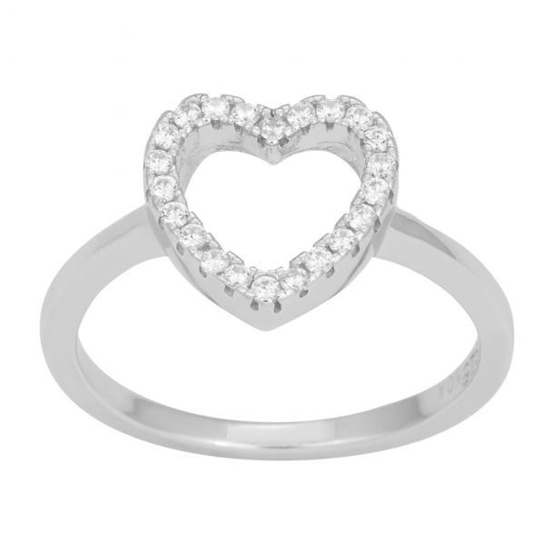 Sølv ring Aida - 145 082
