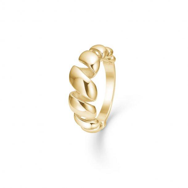 14 kt Mads Z Swirl ring - 1540059