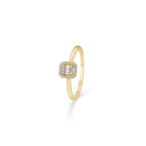 14 kt Mads Z Elizabeth ring med diamanter - 1541030