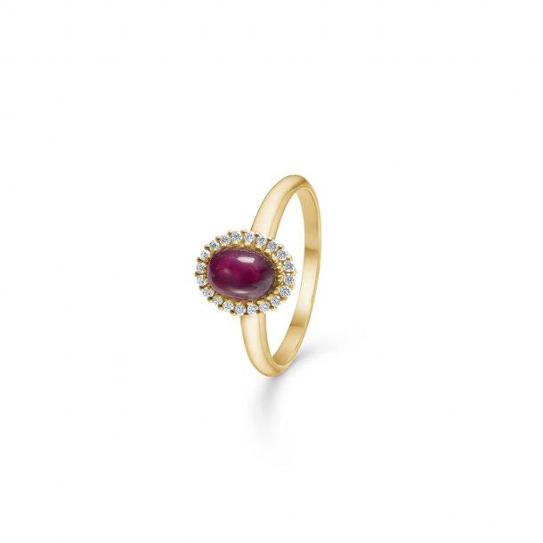 14 karat Mads Z Royal Ruby ring - 1544032