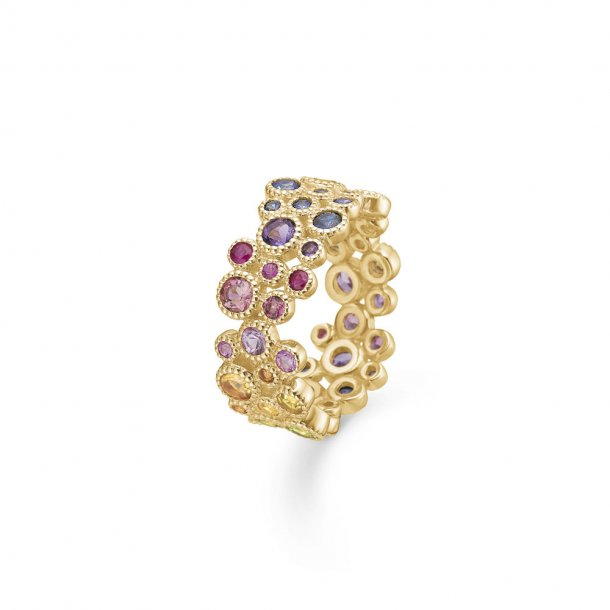 14 karat Mads Z Luxury Rainbow ring - 1544063