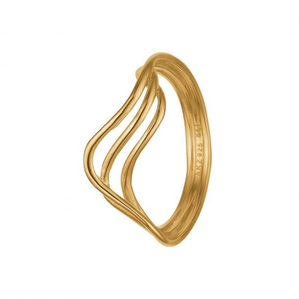 8 kt Aagaard swing ring - 1800-g8-10