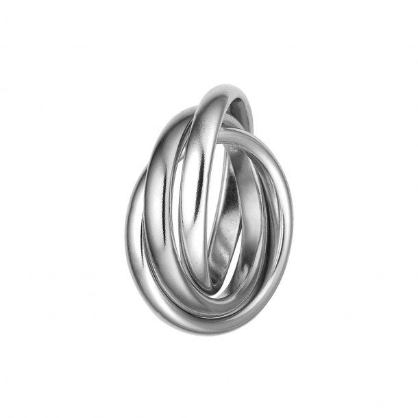 Aagaard 3 i 1 sølv ring - 1800-S-S09