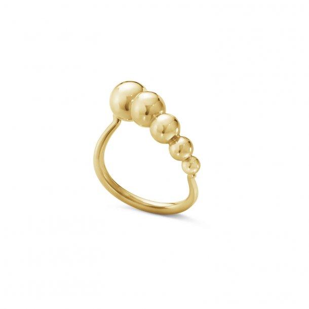 Georg Jensen Moonlight Grapes slim ring - 20000077