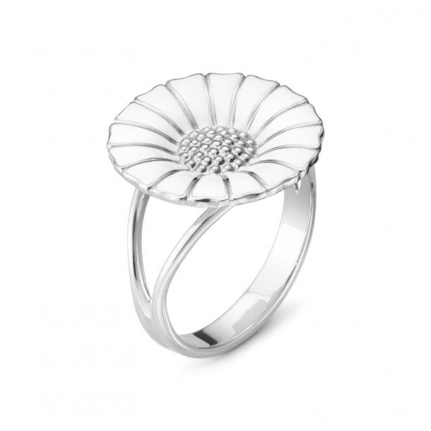 Georg Jensen Hvid Daisy ring - 20000903