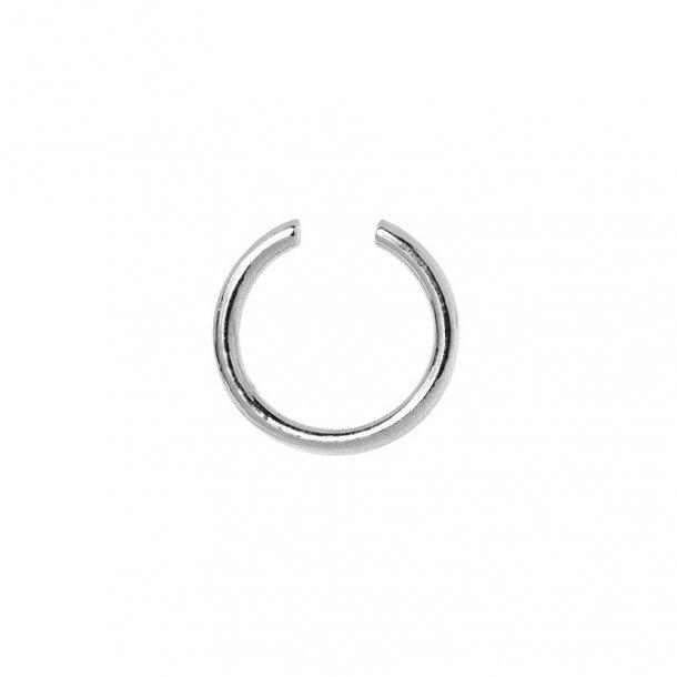 Maria Black Twin Medi earcuff sølv - 200116