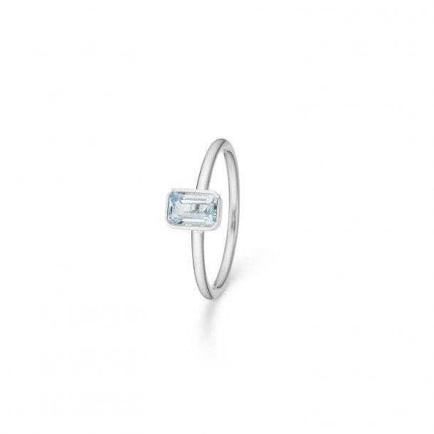 Mads Z Aurora ring, blå topas - 2146501