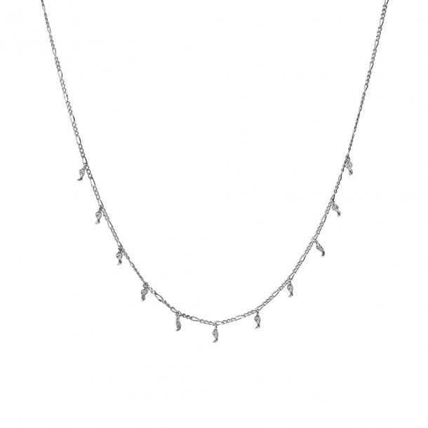Maanesten Jules halskæde sølv - 2595C