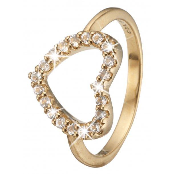 Christina ring Topaz Heart - 3.21B