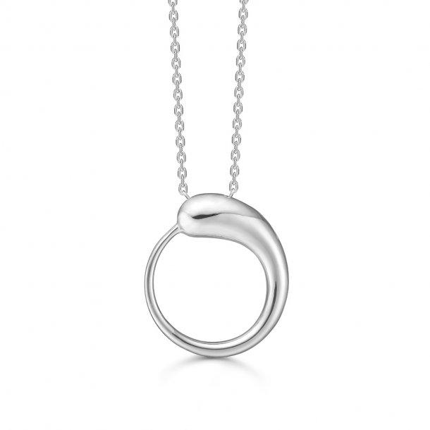Mads z. Drop halskæde i sølv - 3120164