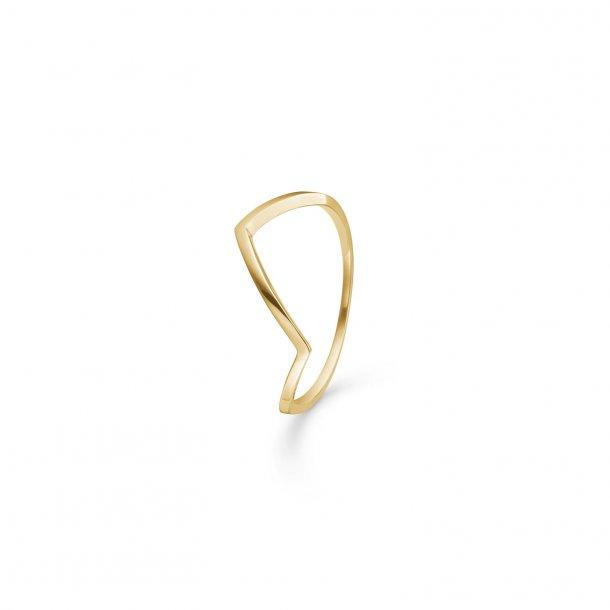 Mads Z ring i 8 kt guld - 3340183