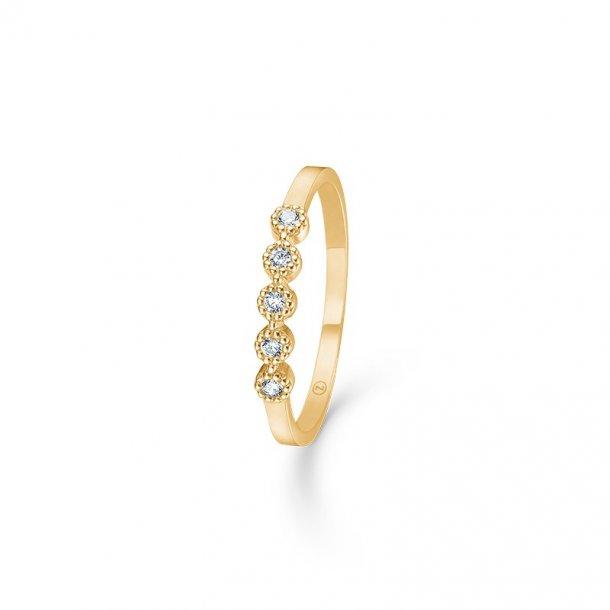 Mads Z Dido ring med zirkonia - 3347170