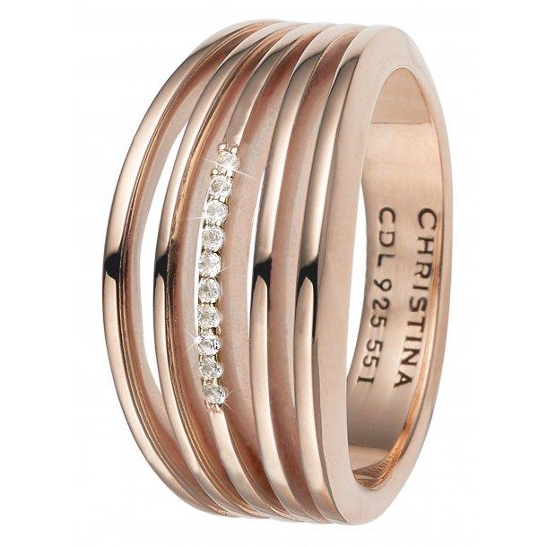 CHRISTINA Open Energy ring - 4.8C