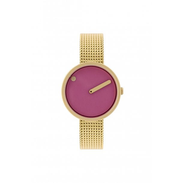 PICTO pink/gold 30 mm - 43342-0912