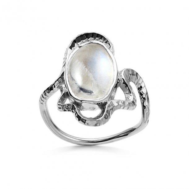 Maanesten Siren ring i sølv - 4731c